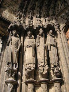 Chartres Martyrs Door Jamb