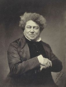 Historical photo of Alexandre Dumas