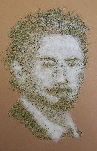 Robert Downey Jr in salt and pepper, gishwhes 2015