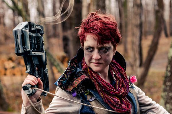 Aurora Vex in Dystopia Rising