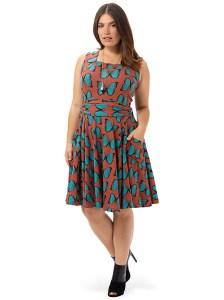 EFFIE'S HEART Dolce Vita Dress In Mariposa Print