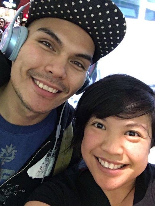 selfie-LAX