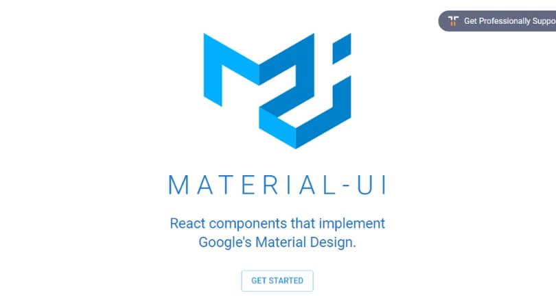 Material – UI - web designer editor tools