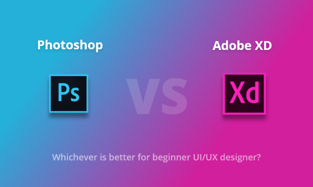 Adobe XD vs Photoshop
