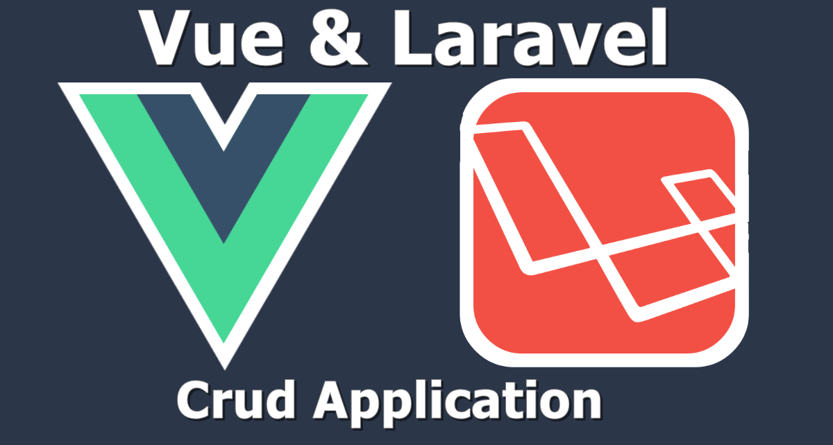crud app with vue and laravel