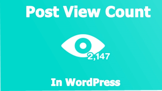 post-view-count-in-wordpress