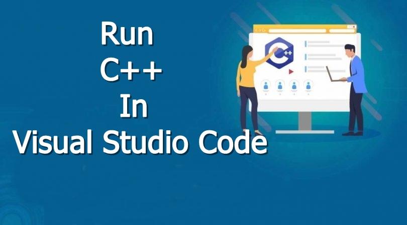 running c++ in visual