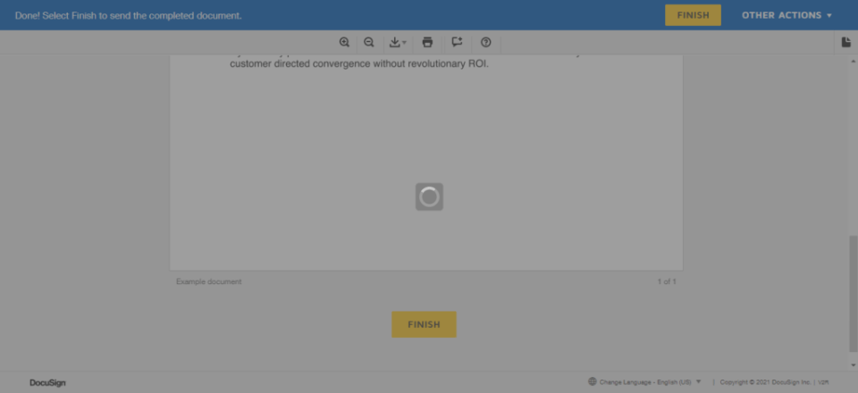 docusign embeded signing