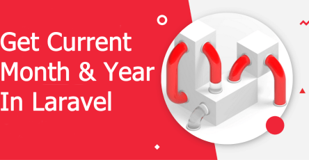 get current month and year in laravel