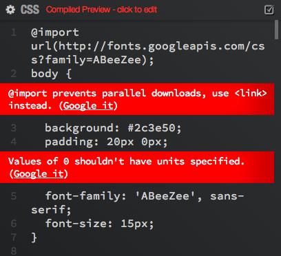 preproc-errors