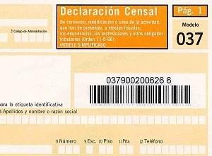 Image du formulaire pour être entrepreneur en Espagne