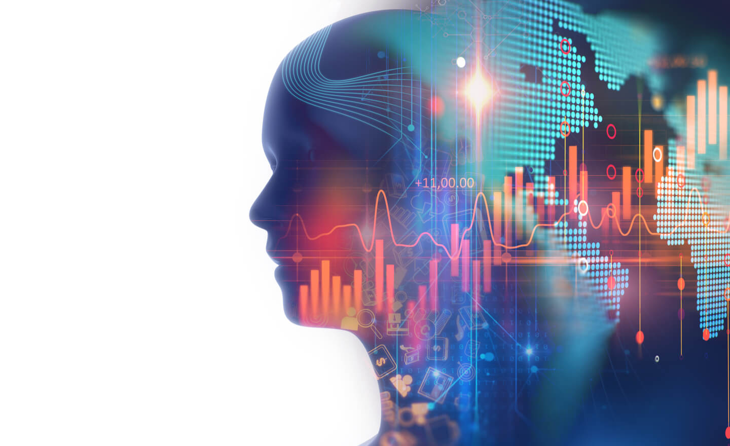Leveraging artificial intelligence to create tailored and relevant customer experiences for savvy investors