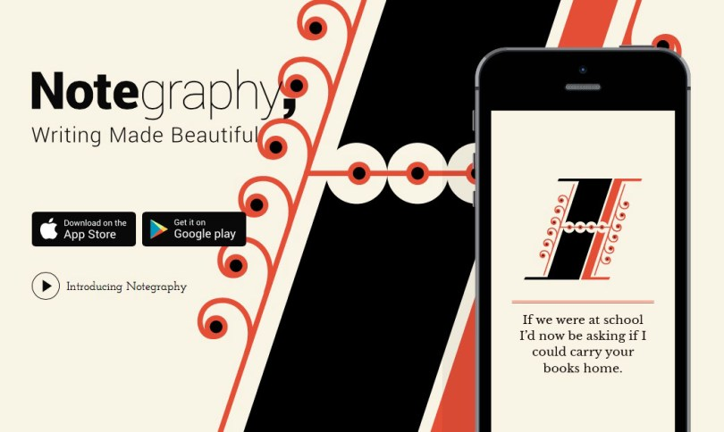 Notegraphy website