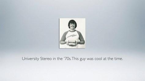 University Stereo Guy.