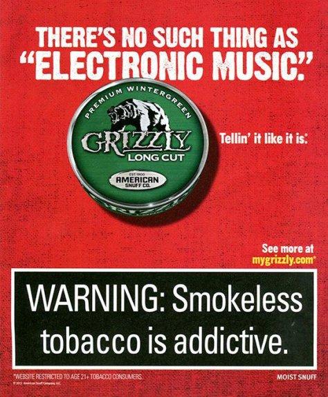 Tobacco ad image