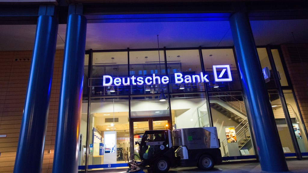 Deutsche Bank says it is impossible to ignore Bitcoin