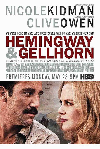 405px Hemingway  Gellhorn poster Finca Vigia   Ernest Hemingways Cuban Home