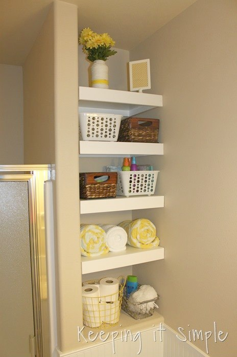 Storage in Bathroom