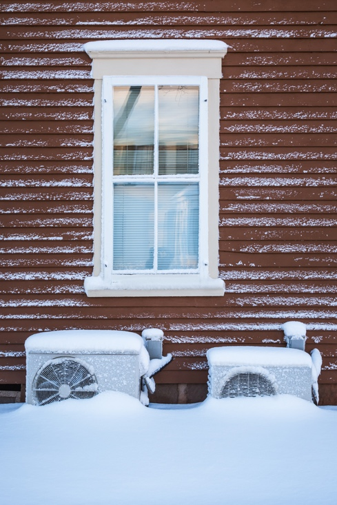 heat pump winter