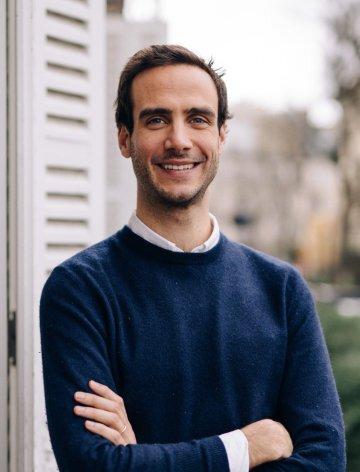 Photo de Matthieu Vaxelaire, l'un des fondateurs de Colette Club.