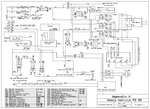 small resolution of 72 volt golf cart wiring diagram