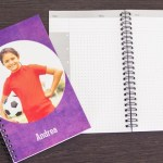 Personalized notebooks are perfect for back to school