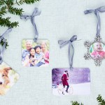 Make a perfect photo ornament for your Christmas tree