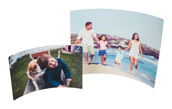 Curved Metal Prints | Gifts for Him