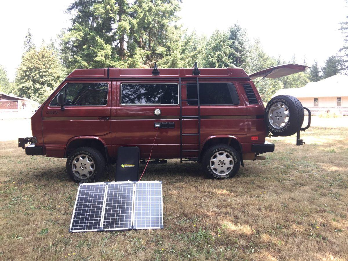 OverlandSolar 90 watt solar