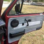 Right door panel - added side pocket