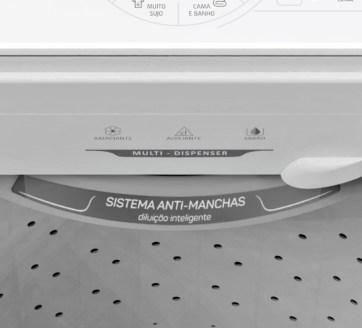 máquina de lavar, colormaq 15 kg, sabão em pó