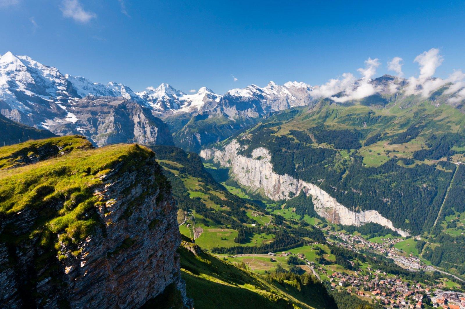 Lauterbrunnental Swiss Alps