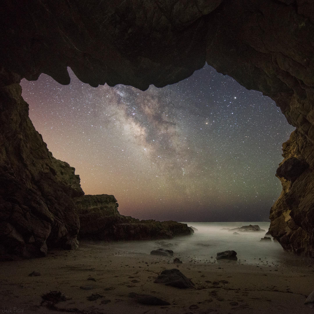 Malibu Sea Cave - Jack Fusco