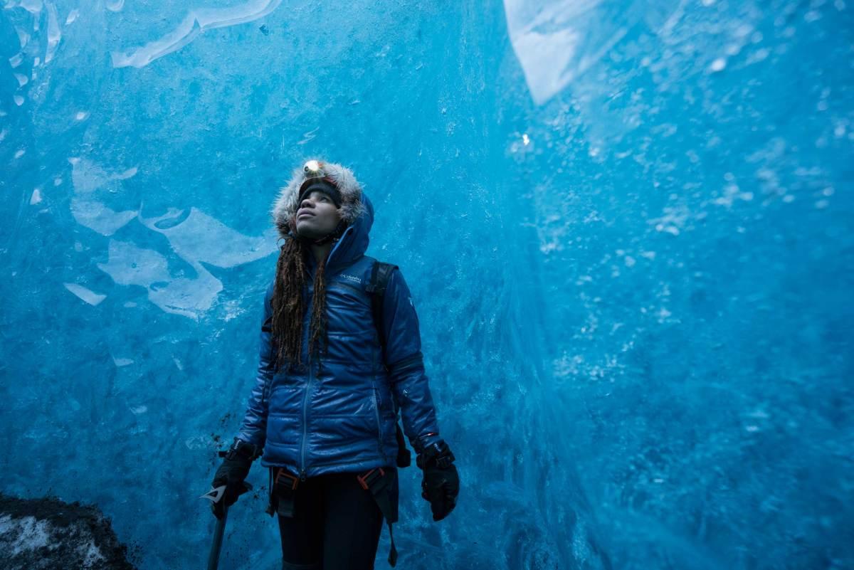 Faith Briggs Iceland Ice Caves