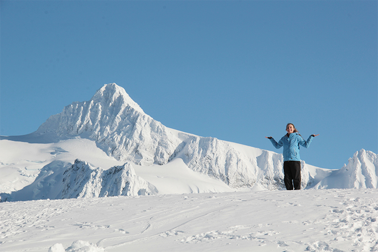 Quest Student at Mount Baker