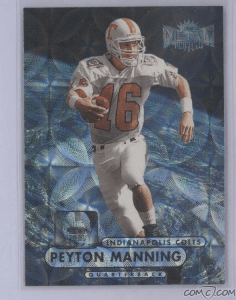 #20000000 - 1998 Metal Universe Precious Metal Gems #189 Peyton Manning