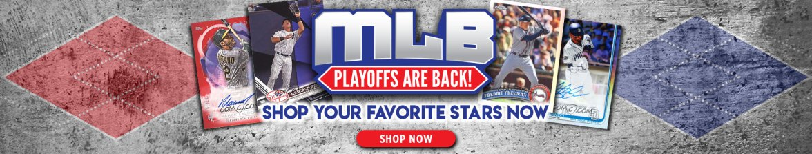 MLB Playoffs, Baseball Cards, Trading Cards, Sports Cards, The Hobby