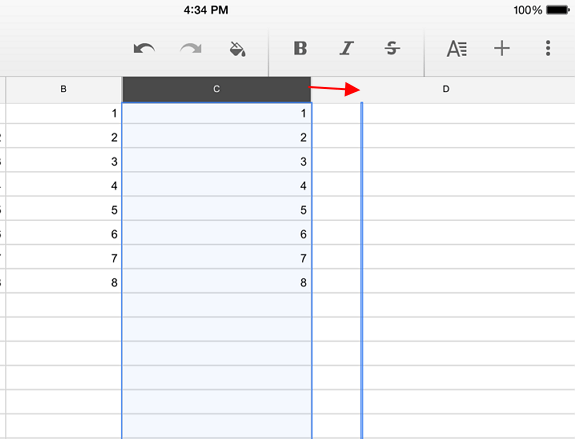 Tips for Using Google Sheets on Android and iOS