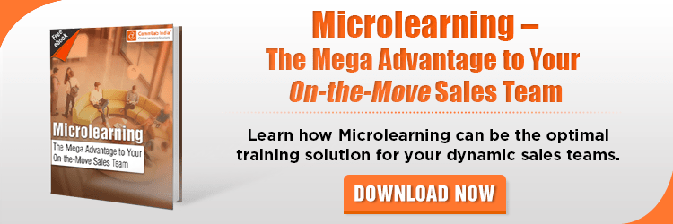 View eBook on Microlearning - The Mega Advantage to Your On-the-Move Sales Team