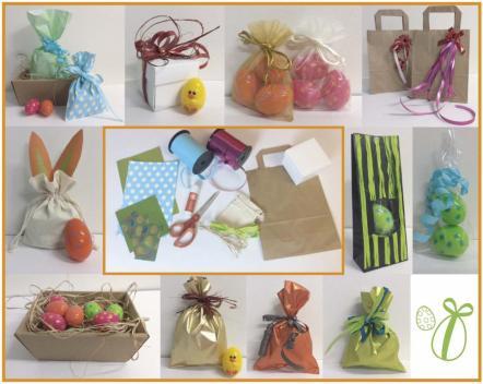 les emballages cadeaux de Pâques