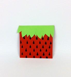 paquet cadeau fraise