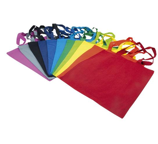 Gamme de couleur des tote bag du Comptoir de l'Emballage