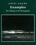 Het lezen van boeken over fotografie, over hoe foto's gemaakt zijn, is leuk en ook nog eens uiterst leerzaam. Op het omslag van het boek Examples, The making of 40 Photographs (een mooi boek over het ontstaan van 40 prachtige foto's van Ansel Adams) staat de foto Moonrise die in deze tip wordt besproken.