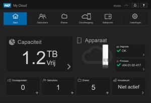 Zelfs een 'basis-NAS' als deze My Cloud beschikt nog over heel wat instellingsmogelijkheden; bovendien is het apparaat lekker snel!