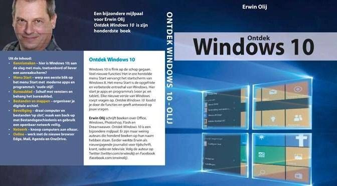 Boek van de maand: Ontdek Windows 10