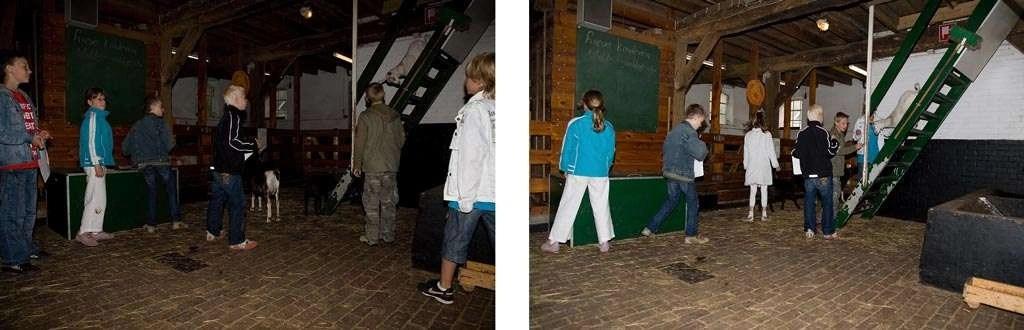 Invloed diafragma: f/11 (links) en f/4 (rechts).