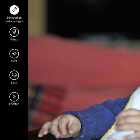 Foto's bewerken in Windows 10