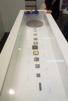De verschillende Intel-processoren.