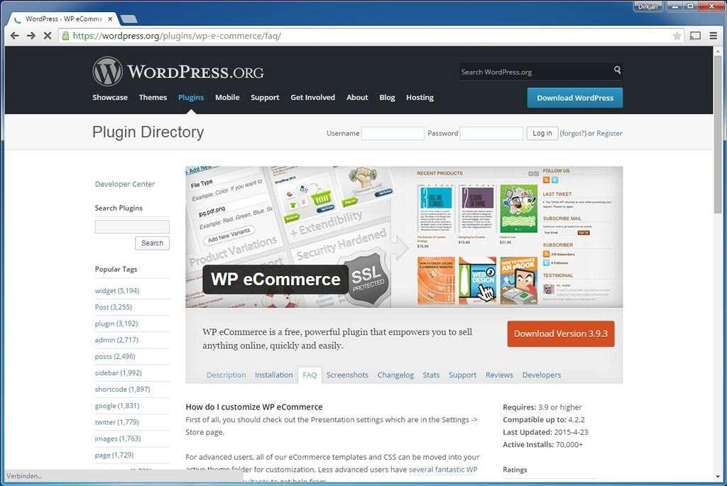 Bijna net zo uitgebreid als WooCommerce, maar er zijn minder uitbreidingen beschikbaar.