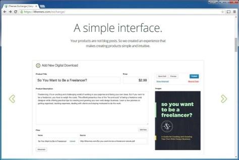 ***fig02_12 Eenvoud is het devies bij iThemes Exchange. Er zijn wat minder mogelijkheden dan bij WooCommerce.